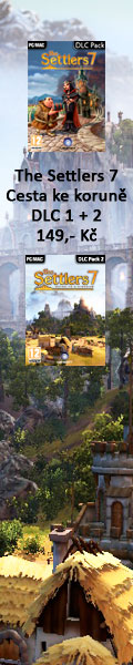 The Settlers 7 Cesta ke korun DLC 1 + 2 149,- K